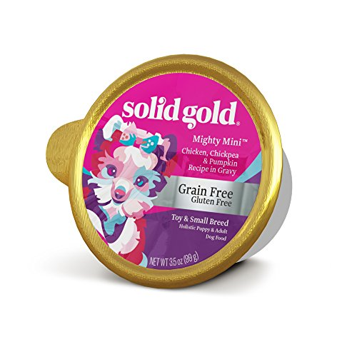 Solid Gold Small & Toy Breed Dry Food; Mighty Mini Grain-Free with Real Chicken; 4 lb