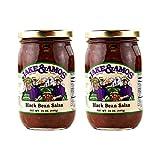 Jake & Amos Black Bean Salsa / 2 - 16 Oz. Jars