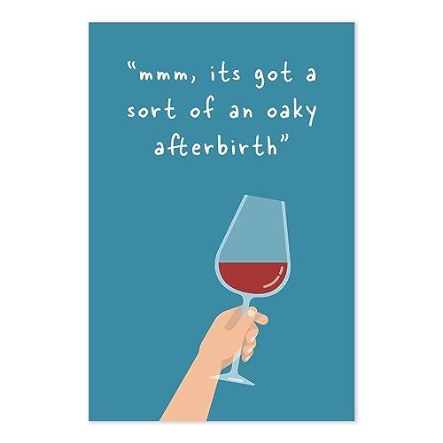Amazon.com: Funny Michael Scott Wine Tasting Quote Art Print ...