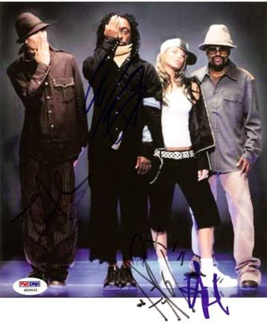 Amazon Com Black Eyed Peas Autographed 8x10 Photo Fergie Will I Am Taboo Apl De Ap Psa Dna S00402 Sports Collectibles