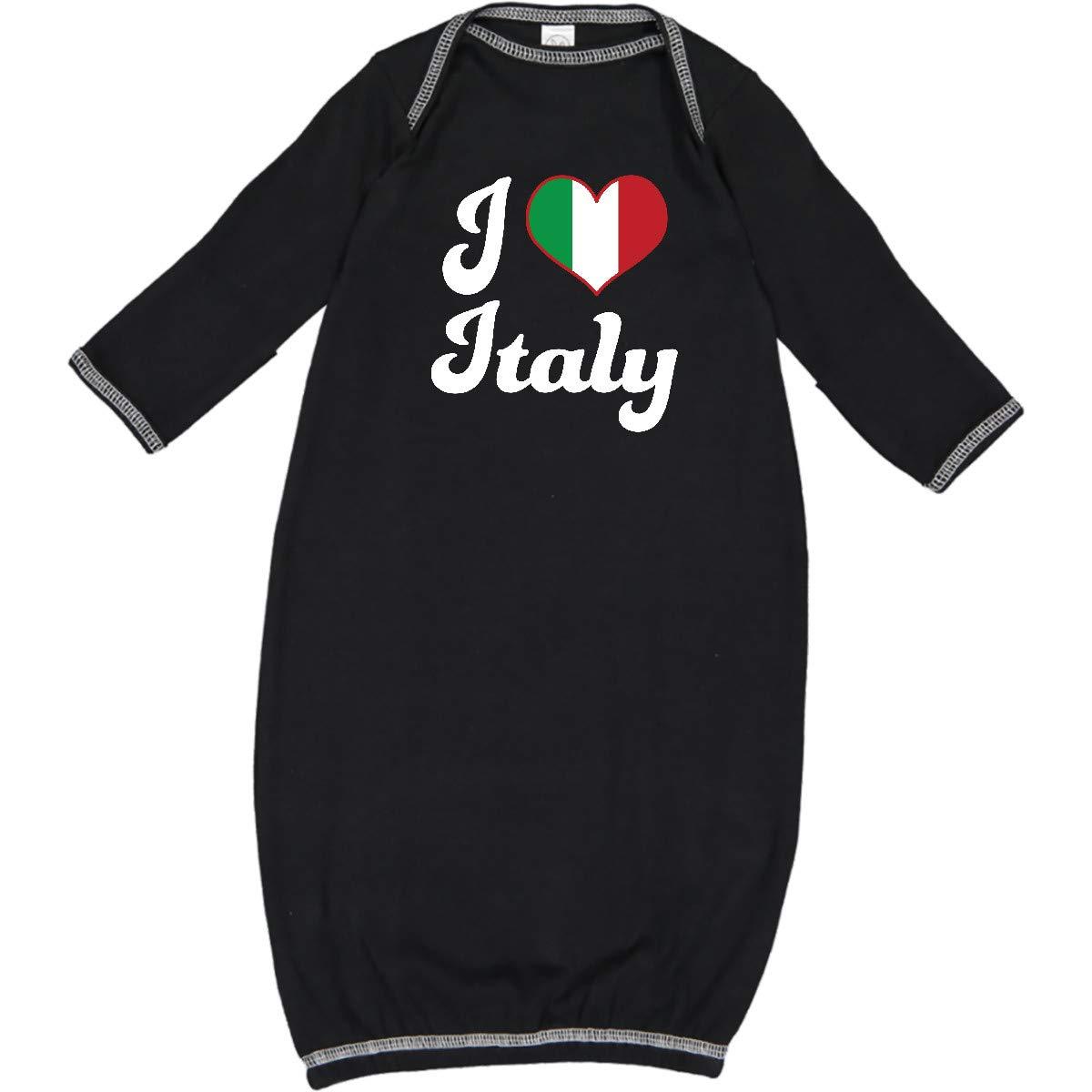 Inktastic I Love Italy Infant Dress Italian Pride Heart