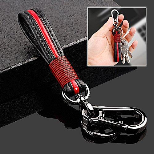 Takavu Premium Leather Valet Keychain Handmade Genuine