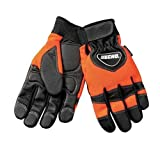 Echo / Shindaiwa 99988801600 Chainsaw Gloves (Orange/Black) - Medium