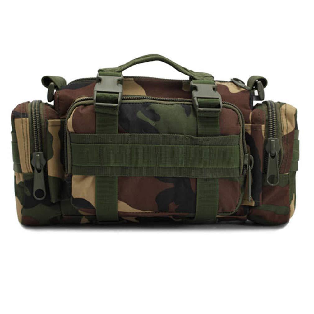 Fishing Bag Camouflage Lure Bag Fishing Tackle Bag Backpack Shoulder Pack Bag Camouflage