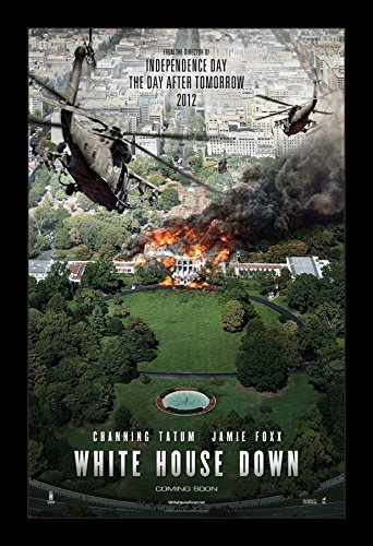 White House Down - 11x17 Framed Movie Poster by Wallspace