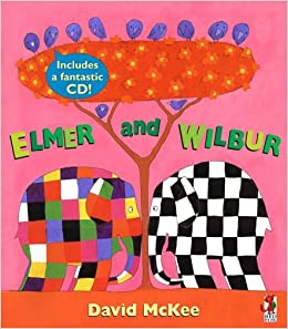 Elmer And Wilbur (Book & CD) by David McKee (2006-10-05)