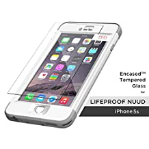 Lifeproof Nuud Tempered Glass Screen Protector, Encased (R40) ShatterProof Screen Protection Guard (case not included) (iPhone 5 5S)