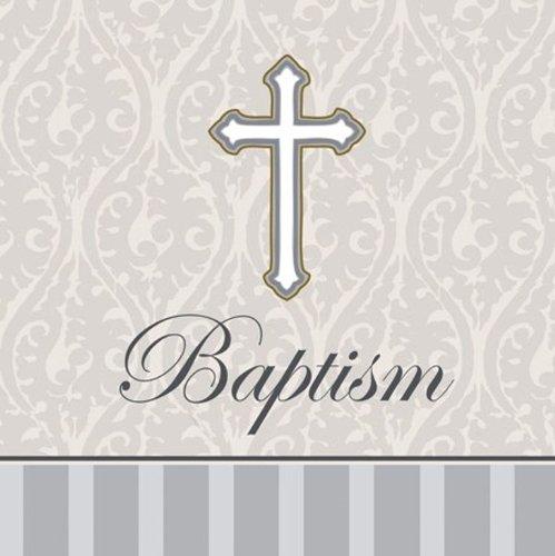 ch Napkins, Silver Devotion Cross ()