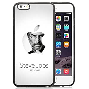Personalized Custom Design Apple Founder Steve Jobs iPhone 6 Plus 5.5 TPU Phone Case By LO.O Case