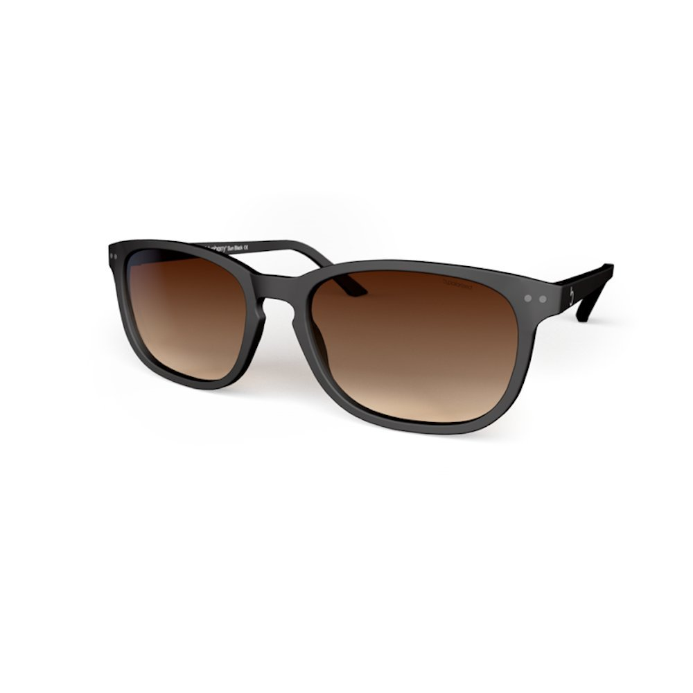 a382f4b7afbb Amazon.com: Blueberry - Sunglasses - Size XL - Unisex - Full Rim - Oversized  - Polarized Lenses - Category 3 - UV 400 Protection- (Black, Brown  Gradient): ...
