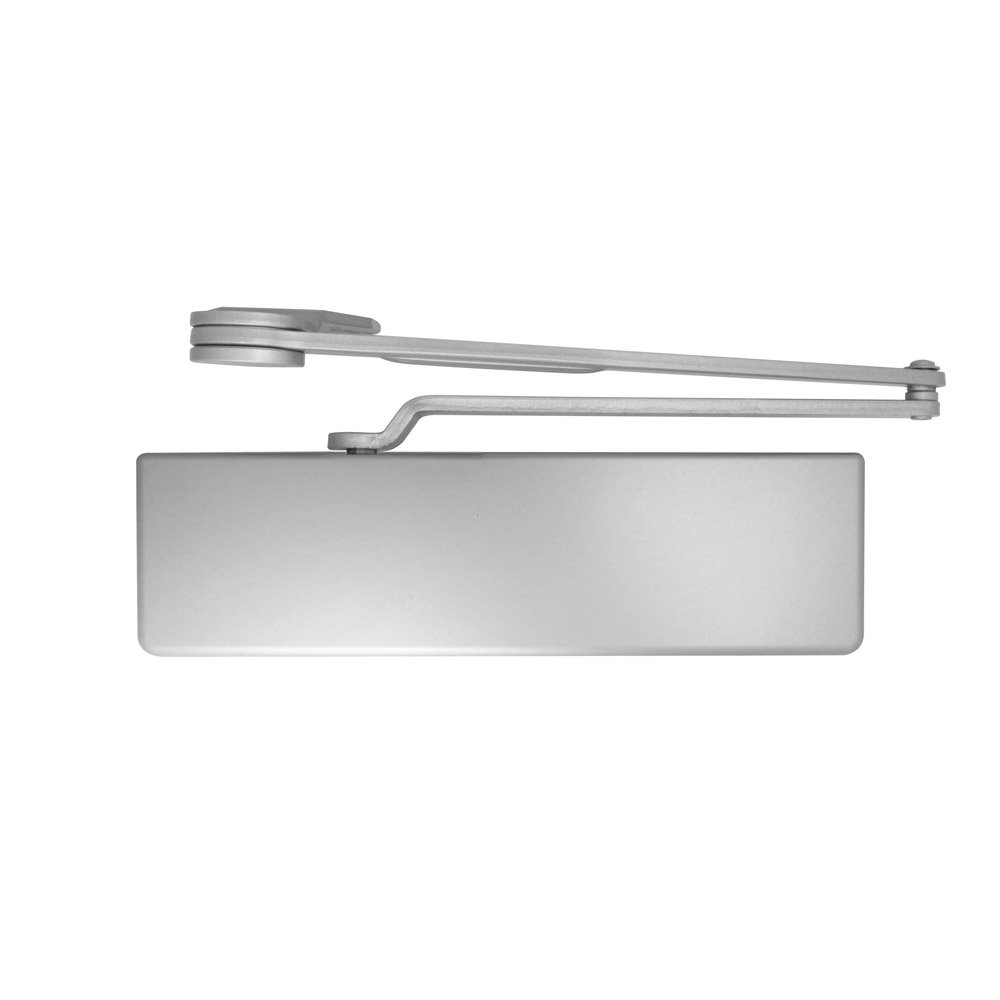 689//ALUM Heavy Duty Dead stop arm Surface Door Closers with Full cover Aluminum Allegion Dexter Commercial Hardware DCH1000-STD-FULL-DS-ALUM