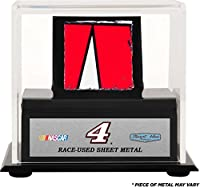 Sports Memorabilia Kevin Harvick Display Case With Race-Used Sheet Metal - Fanatics Authentic Certified - NASCAR Unsigned Race-Used Items from Fanatics Authentic
