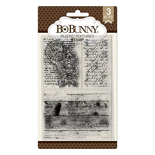 Bo Bunny 7310503 Rustic Textures Stamps, Multi