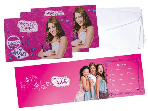 Violetta birthday party invitations 6 piece buy online in uae violetta birthday party invitations 6 piece buy online in uae toys and games products in the uae see prices reviews and free delivery in dubai stopboris Gallery