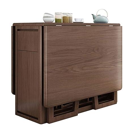 SjYsXm-table Mesa de Comedor Moderna Cocina Plegable ...