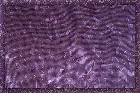 Hand-dyed Aida Cloth-Fading Blossom-11 Ct thru 18 Ct DMC cross-stitch fabric