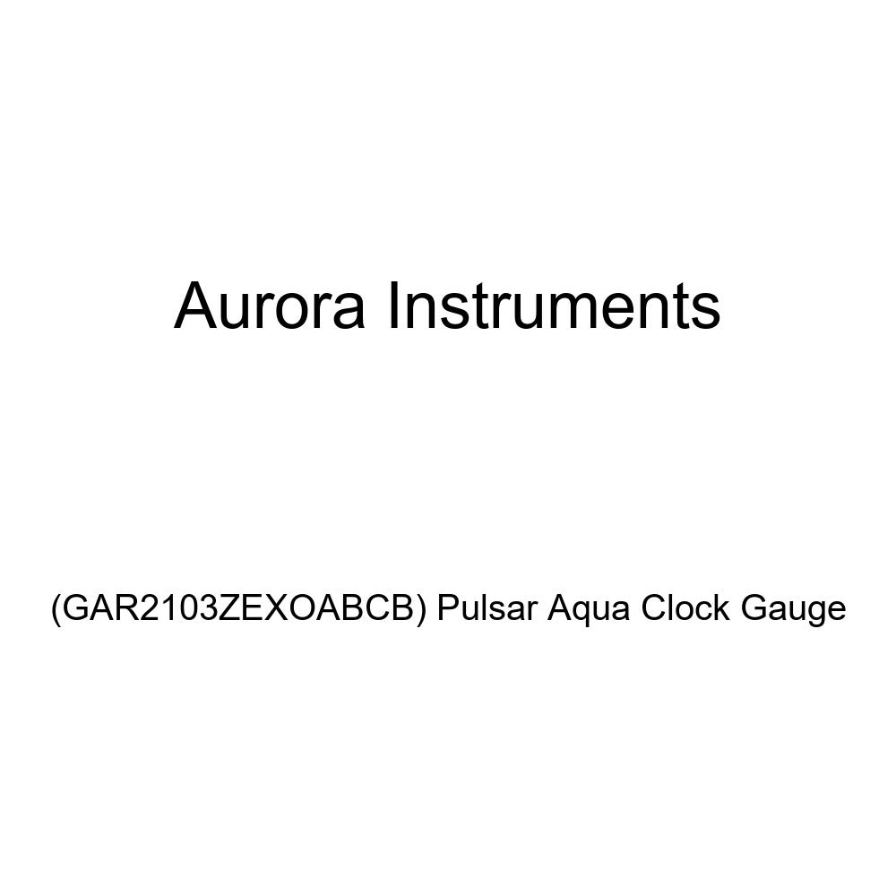 Aurora Instruments GAR2103ZEXOABCB Pulsar Aqua Clock Gauge