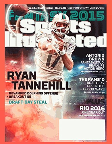 Sports Illustrated Magazine August 17, 2015 - Ryan Tannehill Cover ebook
