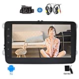 Android 7.1 Car stereo for VW PASSAT Golf with 8'' Capacitive Touch Screen Double Din Car Stereo In Dash GPS Navigation Radio Bluetooth/WiFi/OBD2/Mirror link + Free Wireless Reversing Camera