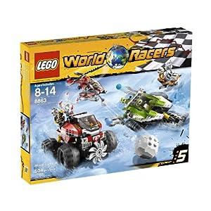LEGO World Racers Blizzard's Peak 8863
