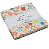 "Well Said Charm Pack By Sandy Gervais; 42-5"" Precut Fabric Quilt Squares"