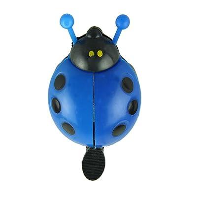 Funny Sonnette de vélo Vélo Bell Ladybug Vélo Bell loisirs en extérieur et sport pour vélo Bleu