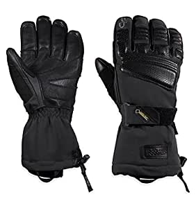 Outdoor Research Men's Olympus Sensor Gloves, Black, Small