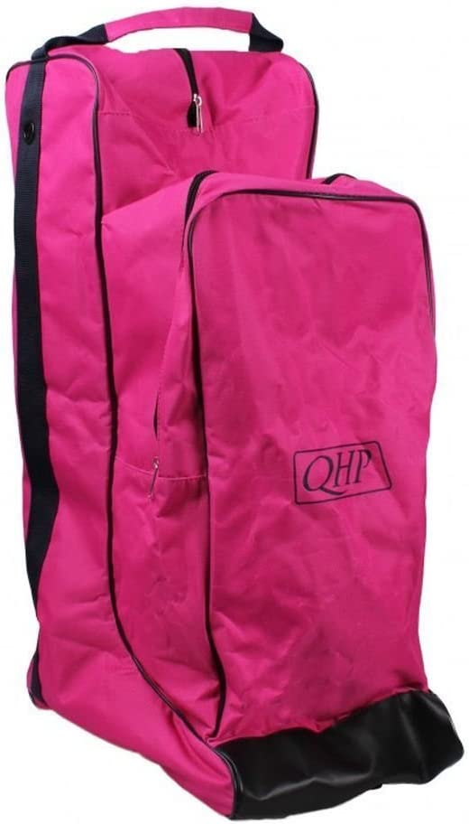QHP Combi Reitstiefel-//Helmtasche Turniertasche 600 D