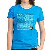 CafePress - Shakespeare Insults Women's Dark T-Shirt - Womens Cotton T-Shirt, Crew Neck, Comfortable & Soft Classic Tee