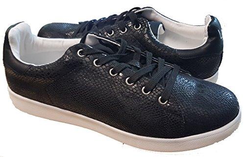 Deporte Les Mujer Negro Zapatillas Material P'tites Bombes Sintético De 67wnrq7SxI