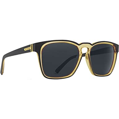 9dec87f849 Image Unavailable. Image not available for. Color  VonZipper Mens Levee Sunglasses  Black Lager Vintage Gray Lens