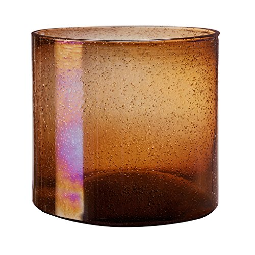 - Tate Coco Gold Vase , Luster Glass Hurricane Crystal Candle Holders , Centerpieces For Coffee Tables MediumÊ