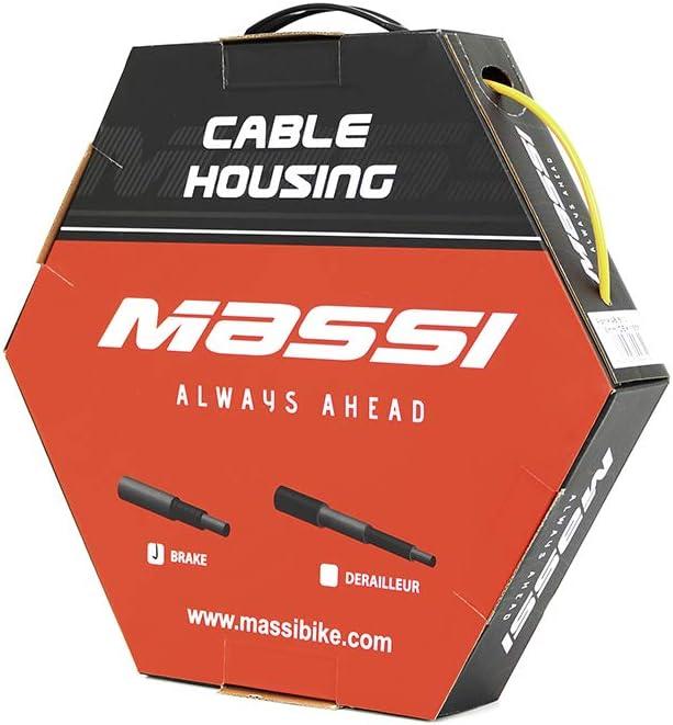 Massi Funda de Cable de Freno para Bicicleta, Adultos Unisex, Gris ...