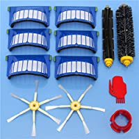 12pcs Replacement Brushes Filter Kit for iRobot Roomba 600 Series