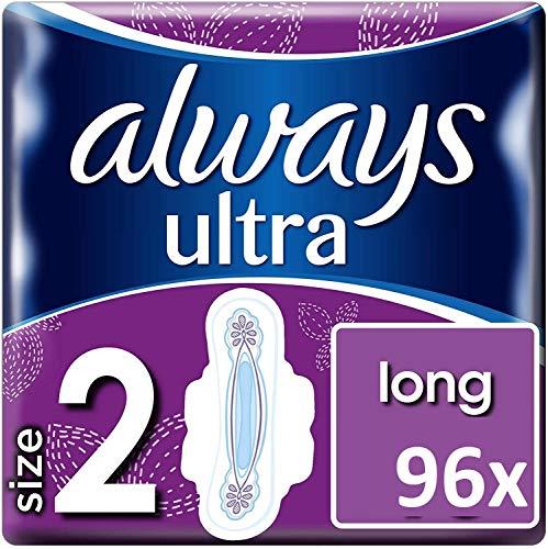 Always Ultra Long Binden (mit Flügeln) Größe 2_96 Stück