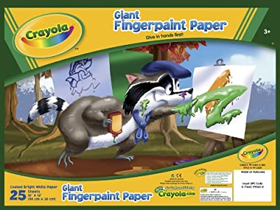 Crayola Giant Fingerpaint Paper, (99-3405) | Educational Computers