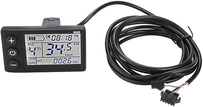 36V//48V Brushless Motor Controller W// LCD Panel for E-bike Electric Bike Scooter