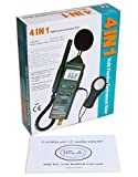 Ruby Electronics DT-8820 4-in-1 Industrial Thermometer Light Humidity Sound Meter