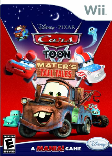 Cars Toon: Mater's Tall Tales - Nintendo Wii (Wii Games Toddler)