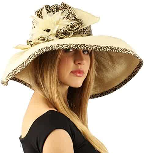 SK Hat shop Summer Floral Floppy Sun Big Wide 6