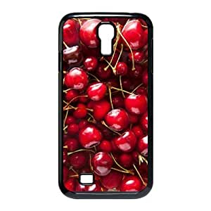 Cool PaintingFashion Cell phone case Of Cherry Bumper Plastic Hard Case For Samsung Galaxy S4 i9500 by icecream design