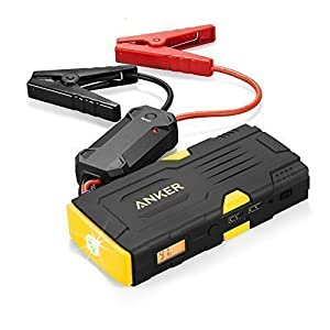 Anker PowerCore Jump Starter 600 (High 600A Peak Current Car Battery Jump Starter and 15000mAh Portable Charger with Built-in Flashlight and Safety Protection) Perfect for 5L Gas and 3L Diesel Engines