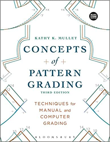Concepts of Pattern Grading: Bundle Book + Studio Access