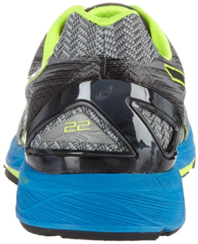 Asics Heren Gel Ds Trainer 22 Loopschoenen, Zwart Grijs (carbon / Zwart / Geel Veiligheid)