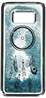 MyBat Cell Phone Case for Samsung Galaxy S8 - Silver Electroplating/Dreamcatcher/Blue Quicksand