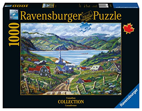 Ravensburger Charlevoix, Quebec Canadian Collection Canadienne 1000 Piece Jigsaw Puzzle for Adults - Every piece is unique, Softclick technology Means Pieces Fit Together Perfectly