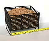 Medium Pellet Basket, Heating Source Using Wood