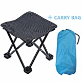 Mini Portable Outdoor Folding Stool 600D Oxford Cloth...
