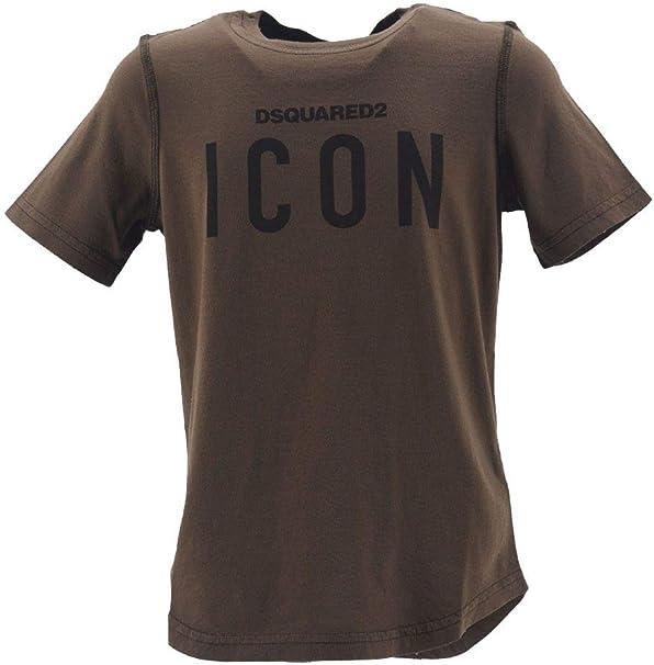 DSQUARED2 - Camiseta de manga corta para niño con impresión Icon ...