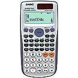 Calculadora Científica com 417 Funções, Visor de 4 Linhas, Casio FX-991ESPLUS, Prata